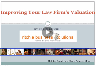 Law Firm Valuation video