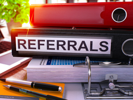 Law firm referral program